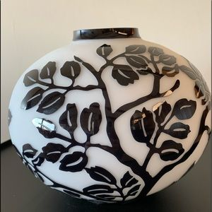 COPY - Black and White Glass Vase